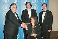 Director Francis Ford Coppola presenting to Sony Pictures Classics' Tom Bernard, Michael Barker and Marcie Bloom at the 3rd Annual Directors Guild Of America Honors at the Waldorf-Astoria in New York City. June 9, 2002. <br />