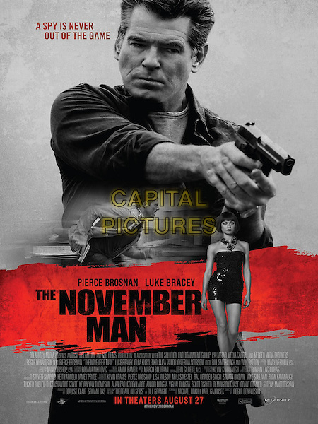 POSTER ART<br /> in The November Man (2014) <br /> *Filmstill - Editorial Use Only*<br /> CAP/NFS<br /> Image supplied by Capital Pictures