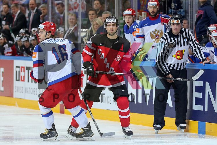 Russlands Plotnikov, Sergei (Nr.16)(Lokomotiv Yaroslavi)  im Spiel IIHF WC15 Finale Russia vs. Canada.<br /> <br /> Foto &copy; P-I-X.org *** Foto ist honorarpflichtig! *** Auf Anfrage in hoeherer Qualitaet/Aufloesung. Belegexemplar erbeten. Veroeffentlichung ausschliesslich fuer journalistisch-publizistische Zwecke. For editorial use only.
