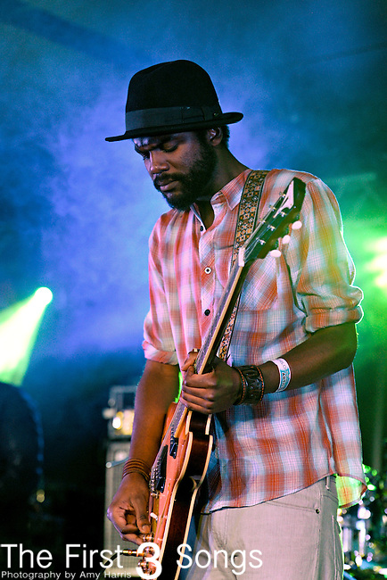 Gary Clark Jr. performs at the 2012 Essence Music Festival on July 6, 2012 in New Orleans, Louisiana at the Louisiana Superdome.