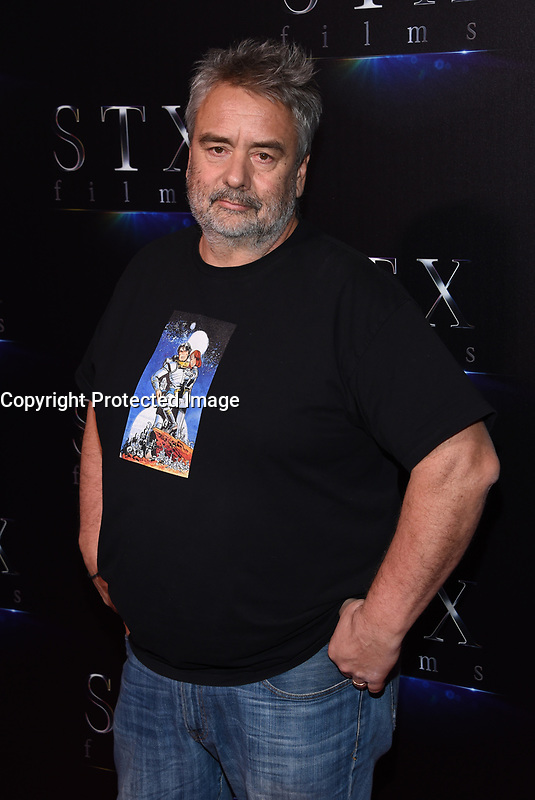 Luc Besson @ the photocall for STX Films 'The State of the Industry: Past, Present and Future' held @ The Colosseum at Caesars Palace.<br /> March 28, 2017 , Las Vegas, USA. # CINEMA CON 2017 - PHOTOCALL 'THE STATE OF THE INDUSTRY'