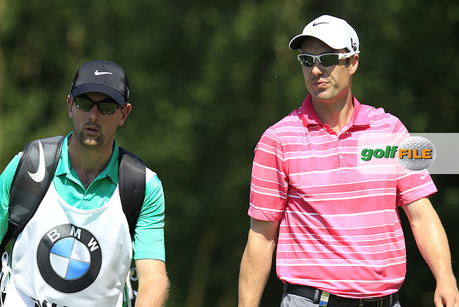 Ross Fisher (ENG) walks off the 4th tee during Thursday's Round 1 of the 2013 BMW International Open held on the Eichenried Golf Club, Munich, Germany. 20th June 2013<br /> (Picture: Eoin Clarke www.golffile.ie)