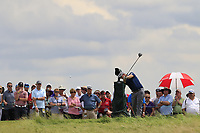 Bernd Wiesberger (AUT) tees off the 10th tee during Saturday's Round 3 of the 117th U.S. Open Championship 2017 held at Erin Hills, Erin, Wisconsin, USA. 17th June 2017.<br /> Picture: Eoin Clarke | Golffile<br /> <br /> <br /> All photos usage must carry mandatory copyright credit (&copy; Golffile | Eoin Clarke)