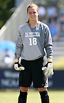 23 September 2007: North Carolina's Ashlyn Harris. The University of North Carolina Tar Heels defeated the University of San Francisco Dons 2-0 at Koskinen Stadium in Durham, North Carolina in an NCAA Division I Women's Soccer game, and part of the annual Duke Adidas Classic tournament.