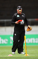 Black Caps coach Andy Moles during 2nd Twenty20 cricket match match between New Zealand Black Caps and West Indies at Westpac Stadium, Wellington, New Zealand on Friday, 27 February 2009. Photo: Dave Lintott / lintottphoto.co.nz