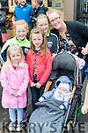 Kelly, Clodagh, Caoimhe, Ava, Lorraine and Tadgh Regan, Kilmoyley, enjoying the Rose of Tralee parade on Sunday afternoon last.