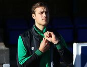 4th November 2017, McDiarmid Park, Perth, Scotland; Scottish Premiership football, St Johnstone versus Celtic;  Erik Sviatchenko returned to the Celtic squad after injury