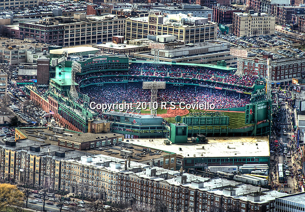 Fenway Park Opening Day.