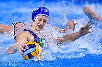 5 ITA QUEIROLO Elisa Italy <br /> Budapest 12/01/2020 Duna Arena <br /> GERMANY (white caps) Vs. ITALY (blue caps)<br /> XXXIV LEN European Water Polo Championships 2020<br /> Photo  © Andrea Staccioli / Deepbluemedia / Insidefoto