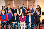 Blue Supper fundraising event for Templenoe Gaa front left to right John O'Sullivan, Eme O'Sullivan, Noel O'Sulliva, Colette O'Sullivan, Tomás O'Connor, Catriona Harrington, Adrian Galvin, John Harrington, Margaret Galvin, Patrick Doyle, Margaret Doyle, Patrick O'Sullivan, Yvonne O'Sullivan, Caoilte ó h-Urdail and Luisne ní h-urdail