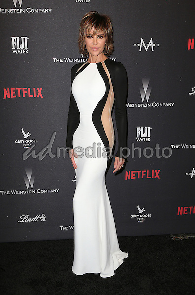 08 January 2016 - Beverly Hills, California - Lisa Rinna. 2017 Weinstein Company And Netflix Golden Globes After Party held at the Beverly Hilton. Photo Credit: F. Sadou/AdMedia