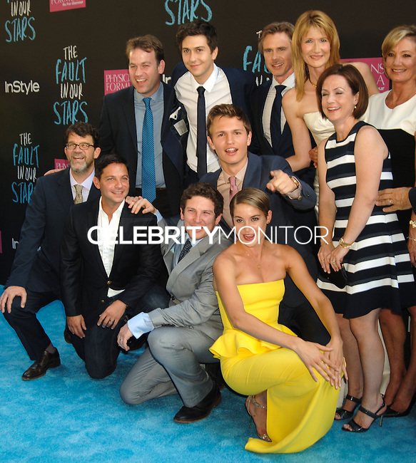 NEW YORK CITY, NY, USA - JUNE 02: Cast at the New York Premiere Of 'The Fault In Our Stars' held at Ziegfeld Theatre on June 2, 2014 in New York City, New York, United States. (Photo by Celebrity Monitor)