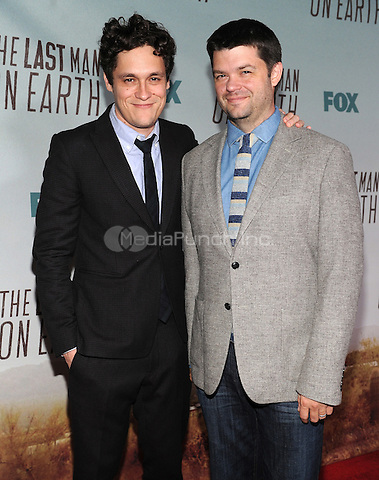 LOS ANGELES - FEBRUARY 24: Executive Producers Chris Miller and Phil Lord arrive at an exclusive screening of the premiere episode of FOX's 'The Last Man on Earth' at Big Daddy's Antique Shop on February 24, 2015 in Los Angeles, California. Credit: PGFM/MediaPunch
