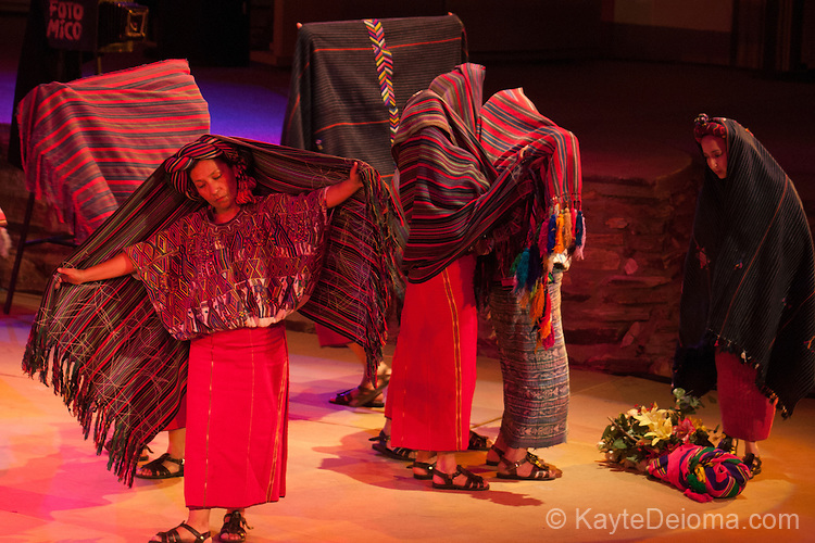 Guatemalan Dancers at the Ford Amphitheatre in Los Angeles, CA