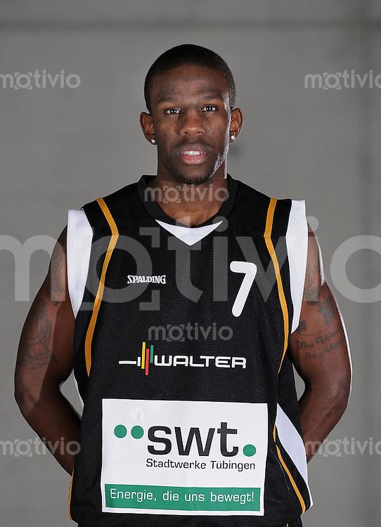 1. Basketball Bundesliga 2009/2010 Walter Tigers Tuebingen  17.11.2009 Steven Wright (Walter Tigers Tuebingen)