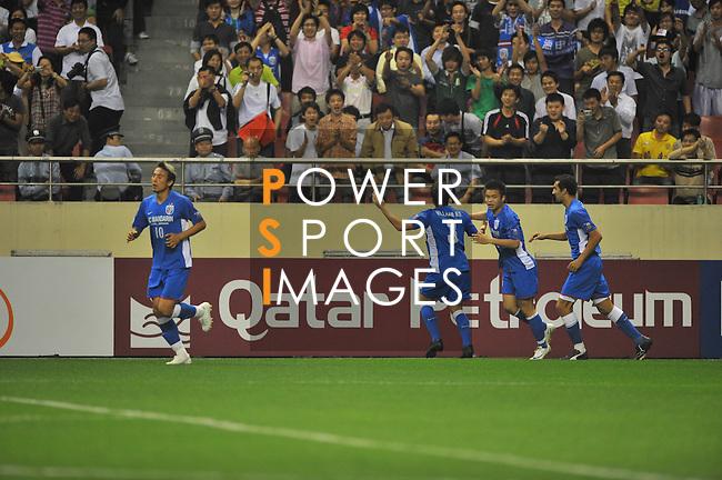 Shanghai Shenhua vs Kashima Antlers during the 2009 AFC Champions League Group G match on May 19, 2009 at the, Hongkou Stadium, Shanghai, China. Photo by World Sport Group