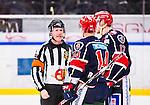 S&ouml;dert&auml;lje 2014-10-23 Ishockey Hockeyallsvenskan S&ouml;dert&auml;lje SK - Malm&ouml; Redhawks :  <br /> S&ouml;dert&auml;ljes Robert Carlsson och Jonas Engstr&ouml;m diskuterar med domare Peter Lyth i samband med en utvisning f&ouml;r S&ouml;dert&auml;lje under matchen mellan S&ouml;dert&auml;lje SK och Malm&ouml; Redhawks <br /> (Foto: Kenta J&ouml;nsson) Nyckelord: Axa Sports Center Hockey Ishockey S&ouml;dert&auml;lje SK SSK Malm&ouml; Redhawks utvisning utvisad utvisas diskutera argumentera diskussion argumentation argument discuss domare referee ref