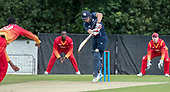 Cricket Scotland - Scotland V Namibia One Day International match at Grange CC today (Thur) - this match is the first of two ODI matches this week against Zimbabwe - Matty Cross - picture by Donald MacLeod - 15.06.2017 - 07702 319 738 - clanmacleod@btinternet.com - www.donald-macleod.com