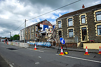 2020 07 02 Gas Explosion in Seven Sisters, Neath Port Talbot, Wales, UK