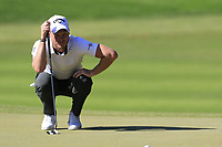 Danny Willett (ENG) on the 3rd green during Saturday's Round 3 of the 2018 Turkish Airlines Open hosted by Regnum Carya Golf &amp; Spa Resort, Antalya, Turkey. 3rd November 2018.<br /> Picture: Eoin Clarke | Golffile<br /> <br /> <br /> All photos usage must carry mandatory copyright credit (&copy; Golffile | Eoin Clarke)