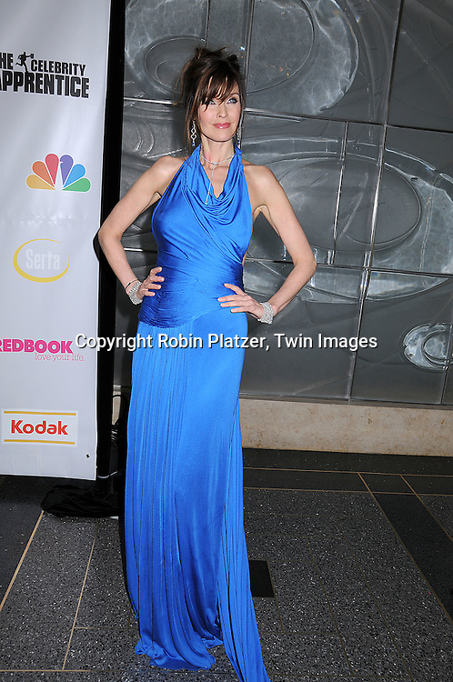 "Carol Alt in Lloyd Klein dress.at ""The Celebrity Apprentice"" after party for the March 27th, 2008 Finale sponsored by Vera Wang by Serta, Redbook and Kodak at The Rock Center Cafe in Rockefeller Center in New York City...Robin Platzer, Twin Images"
