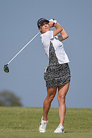 Jaye Marie Green (USA) watches her tee shot on 2 during the round 3 of the Volunteers of America Texas Classic, the Old American Golf Club, The Colony, Texas, USA. 10/5/2019.<br /> Picture: Golffile   Ken Murray<br /> <br /> <br /> All photo usage must carry mandatory copyright credit (© Golffile   Ken Murray)