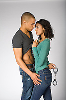Contemporary BDSM STOCK photography with black models for romance novel covers by Jenn LeBlanc and Studio Sexy for Illustrated Romance