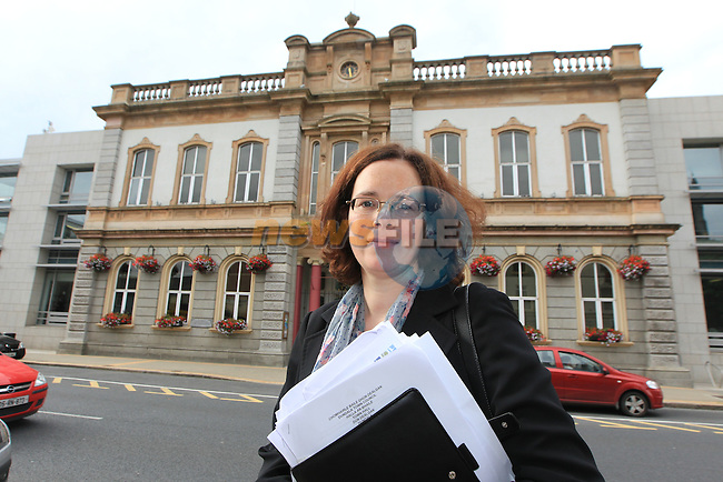 Marianne Butler Dundalk Town Councillor<br /> Picture:  Fran Caffrey / www.newsfile.ie