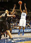 UK guard Bria Goss shoots a jumper during the first half of the UK Women's basketball game against Southern Miss on 11/19/11 in Lexington, KY. Photo by Quianna Lige | Staff