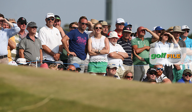Nearly 33,000 spectators inclusive of Round Three have enjoyed spectacular weather and golf at the 2014 Senior Open Championship presented by Rolex from Royal Porthcawl Golf Club, Porthcawl, Wales. Picture:  David Lloyd / www.golffile.ie