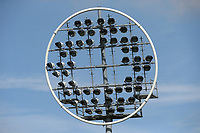 A distinctive circular floodlight during Nottinghamshire CCC vs Essex CCC, Specsavers County Championship Division 1 Cricket at Trent Bridge on 12th September 2018