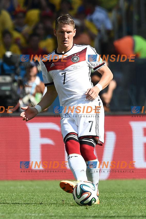 Bastian Schweinsteiger Germany <br /> Rio de Janeiro (Brasile) 04-07-2014 Maracana Quarter-Finals / Quarti di finale France - Germany / Francia - Germania. Football 2014 Fifa World Cup Brazil - Campionato del Mondo di Calcio  Brasile 2014 <br /> Foto Insidefoto