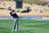 Adam Long (USA) on the 15th during the 2nd round of the Waste Management Phoenix Open, TPC Scottsdale, Scottsdale, Arisona, USA. 01/02/2019.<br /> Picture Fran Caffrey / Golffile.ie<br /> <br /> All photo usage must carry mandatory copyright credit (© Golffile | Fran Caffrey)