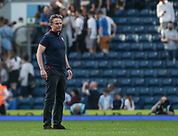 Bolton Wanderers' manager Phil Parkinson at the end of the match <br /> <br /> Photographer Andrew Kearns/CameraSport<br /> <br /> The EFL Sky Bet Championship - Blackburn Rovers v Bolton Wanderers - Monday 22nd April 2019 - Ewood Park - Blackburn<br /> <br /> World Copyright © 2019 CameraSport. All rights reserved. 43 Linden Ave. Countesthorpe. Leicester. England. LE8 5PG - Tel: +44 (0) 116 277 4147 - admin@camerasport.com - www.camerasport.com