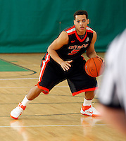 April 10, 2011 - Hampton, VA. USA;  Chris Leppanon. participates in the 2011 Elite Youth Basketball League at the Boo Williams Sports Complex. Photo/Andrew Shurtleff