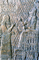 Assyria:  Sennacherib watches the March-past.  Biblical History of Assyrian Sculpture.  Trustees of the British Museum 1986.