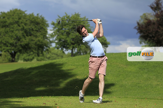 Richard Knightly (The Royal Dublin) on the 10th tee during Round 4 of the 2016 Connacht Strokeplay Championship at Athlone Golf Club on Sunday 12th June 2016.<br /> Picture:  Golffile | Thos Caffrey