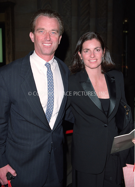 WWW.ACEPIXS.COM . . . . .  ....May 16 2012, New York....Mary Richardson Kennedy's body was found in an outbuilding on her property on May 16 2012 in Bedford, NY. It has been ruled that she hanged herself.....Original caption: Robert F. Kennedy Jr. and his wife Mary Richardson during a gala benefit to celebrate the Sundance Institute 20th Anniversary at Cipriani on 42nd St. in New York. April 23, 2002....Please byline: ACE Pictures, Inc.... . . . .  ....Ace Pictures, Inc:  ..Tel: (212) 243-8787..e-mail: info@acepixs.com..web: http://www.acepixs.com