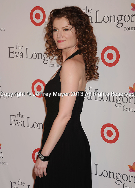 HOLLYWOOD, CA- SEPTEMBER 28: Actress Rebecca Wisocky arrives at the Eva Longoria Foundation Dinner at Beso restaurant on September 28, 2013 in Hollywood, California.