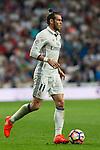 Real Madrid's Garet Bale during the match of La Liga between Real Madrid  and Villarreal Club de Futbol at Santiago Bernabeu Estadium in Madrid. September 21, 2016. (ALTERPHOTOS/Rodrigo Jimenez)