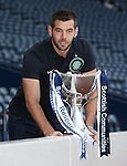 Joe Ledley after the LEague Cup Draw