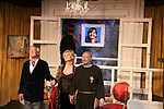"Curtain Call - As The World Turns' Ellen Dolan & Bill Tatum & Charles E. Gerber (Tartuffe)  in Tartuffe - 1st preview January 13, 2011 of Moliere's ""Tartuffe"" from Jan. 13 to Jan 29 at the WorkShop Theatre, New York City, New York. (Photo by Sue Coflin/Max Photos)"
