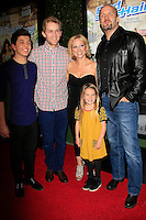 LOS ANGELES - FEB 10: Bradley Steven Perry, Jason Dolley, Leigh Allyn Baker, Mia Talerico, Eric Allan Kramer at the screening of the Disney Channel Original Movie 'Bad Hair Day' at the Frank G Wells Theater on February 10, 2015 in Burbank, CA