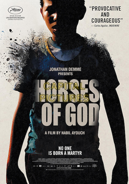 AMERICAN POSTER ART<br /> in Horses of God (2012) <br /> (Les chevaux de Dieu)<br /> *Filmstill - Editorial Use Only*<br /> CAP/FB<br /> Image supplied by Capital Pictures