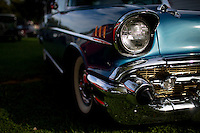 A 1957 Chevrolet Bel Air is pictured during the Ducktail Run Rod & Custom Show – Gas City, Ind., Saturday, Sept. 29, 2014. (Photo by James Brosher)