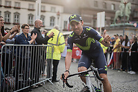 Alejandro Valverde (ESP/Movistar)<br /> <br /> &quot;Le Grand D&eacute;part&quot; <br /> 104th Tour de France 2017 <br /> Team Presentation in D&uuml;sseldorf/Germany