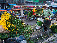 The Whole Sale Flower Market in Hanoi start <br />