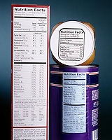 NUTRITION LABEL: CEREAL, HONEY, SOUP<br />
