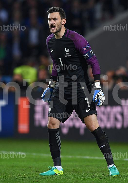 FUSSBALL EURO 2016 GRUPPE A IN LILLE Schweiz - Frankreich     19.06.2016 Torwart Hugo Lloris (Frankreich)