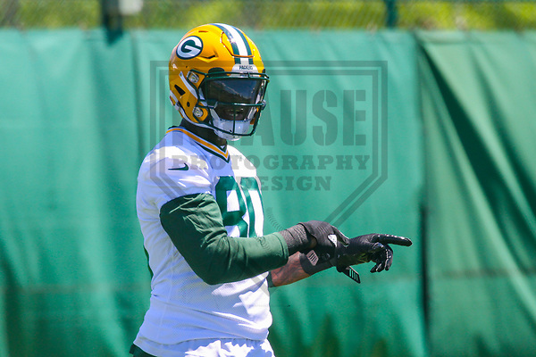 Green Bay Packers tight end Martellus Bennett (80) during an OTA on June 6, 2017 at Clarke Hinkle Field in Green Bay, Wisconsin. (Brad Krause/Krause Sports Photography)